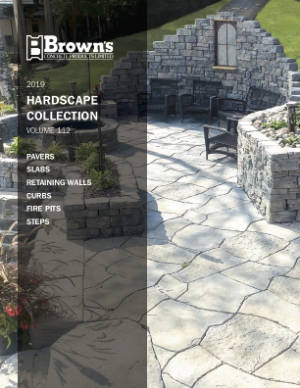 Browns Hardscape Collection 2019