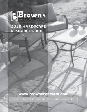 Browns Hardscape Tech Guide 2020